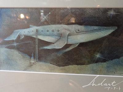 HASIMOTO HIROMI「船」原画作品のご紹介