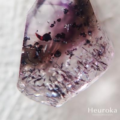 【 Heuroka 】アメジスト・スモーキークォーツ