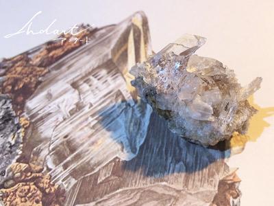 【 Andart 】ビンテージの鉱物画