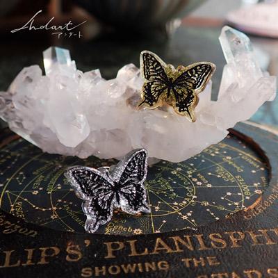 カノセカイ 蝶のタックピン