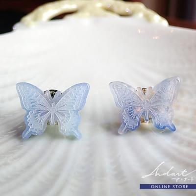 【 Andart 】 カノセカイ /『 想い出の空を映す蝶 』/  Lapel Pin