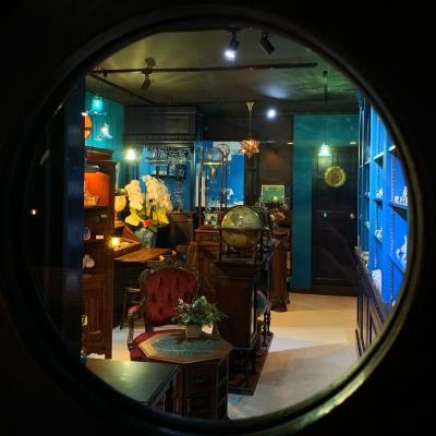 「 海と宇宙と鉱物とカフェAndart 」新店舗
