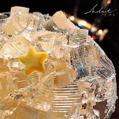 【 Andart 】SEASONAL MENU『 4月の誕生石のパルフェ / ロック・クリスタル 』