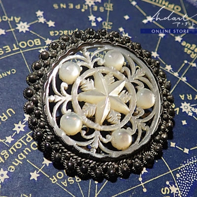 【 Andart 】Mother of Pearl / Brooch ( S )