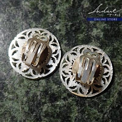 マザーオブパール/ ベツレヘムの星 / Earring ( T )