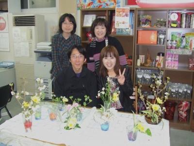 生け花体験3