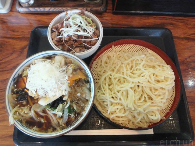 伝丸@肉野菜つけ麺セット~WM.jpg