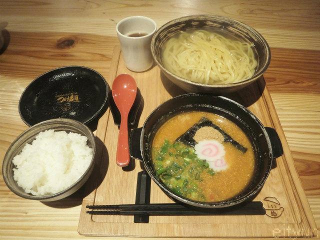 めんたい煮こみ@つけ麺300g6~WM.jpg