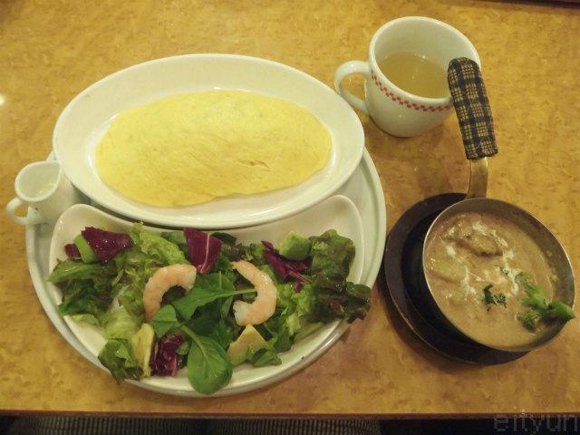 卵と私@若鶏ときのこ~WM.jpg