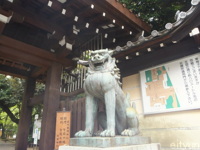 靖国2015@狛犬南門~WM.jpg