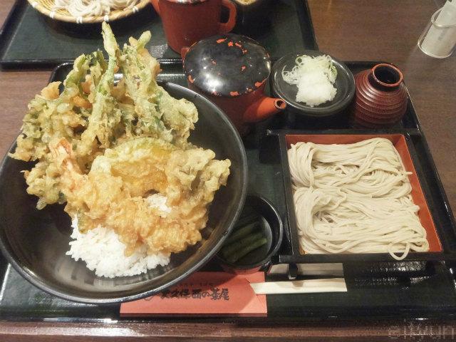 大久保西の茶屋@天丼2~WM.jpg