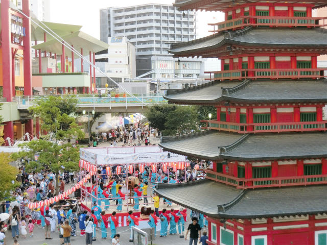 第9回えびな 盆踊りフェスティバル2018 | ビナウォーク 開催日 7月21日(土) / ゆるキャラ 【海老名】