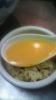 冷やしのセットご飯にスープをかけて♪