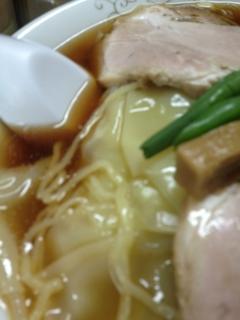 チャーシューワンタン麺画像