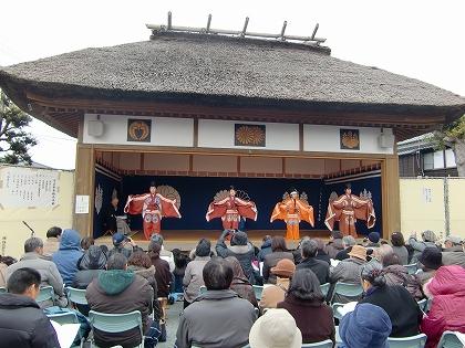 大江の幸若舞