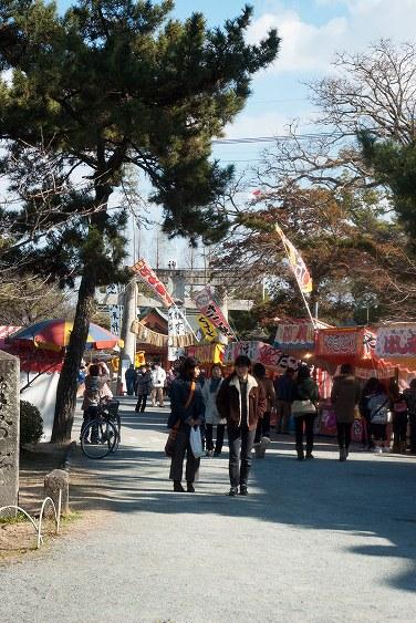 風浪宮大祭露天(fushin)