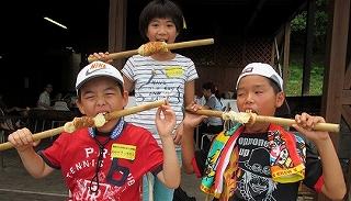 竹パンづくり