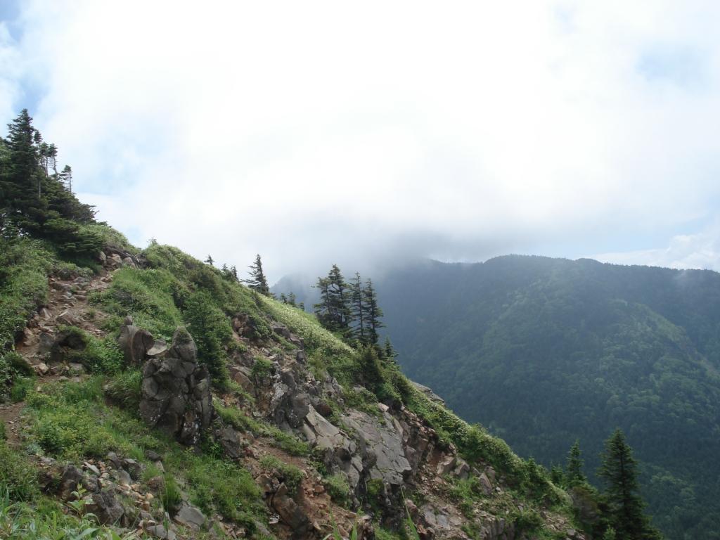遠景の四阿山