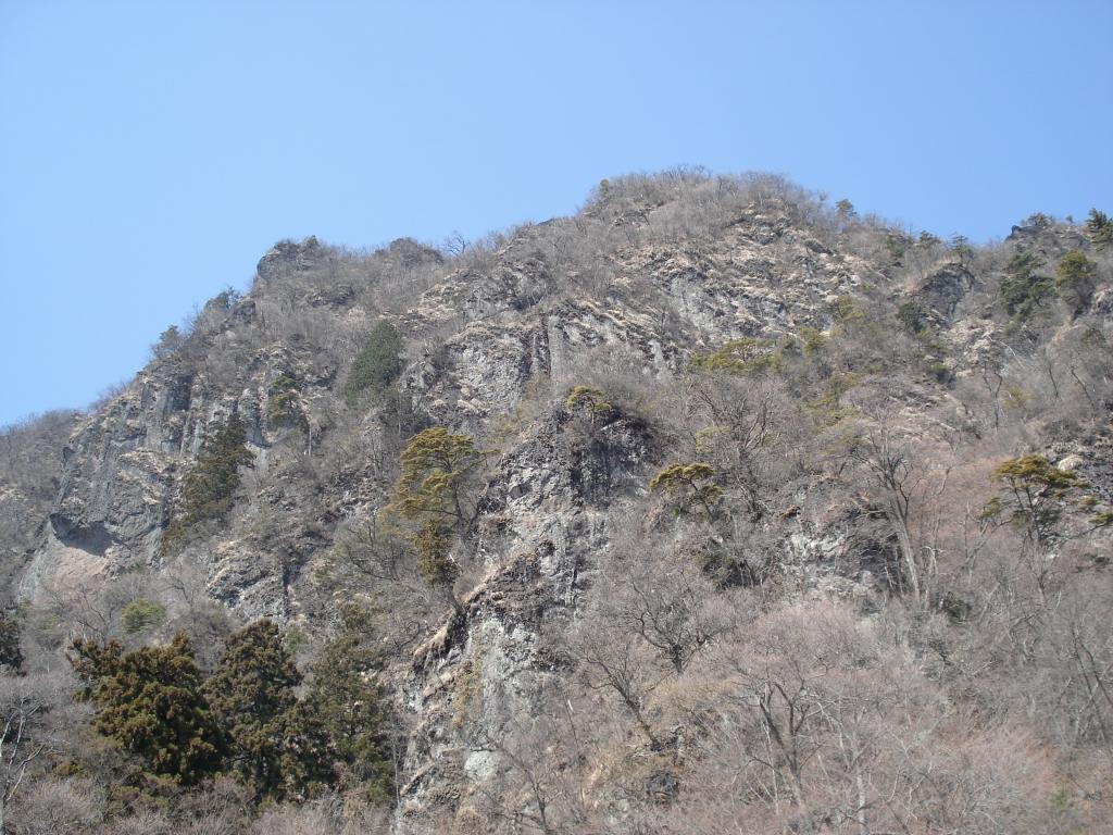 大の字 白雲山