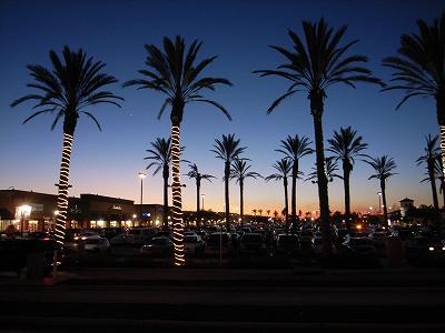 サンディエゴの夕方