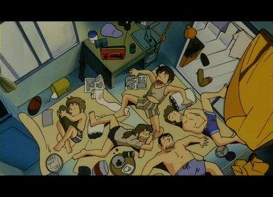 夏の昼寝。
