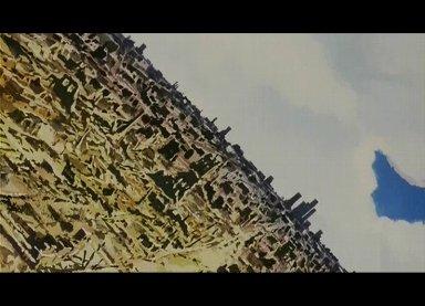 廃墟と化した街。