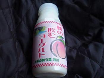 桃の飲むヨーグルト