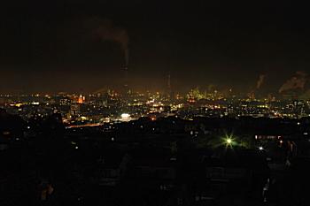 高城の夜景