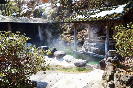 宝泉寺共同浴場 石櫃の湯