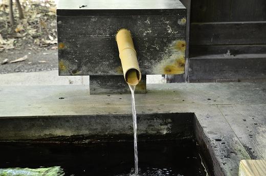 筋湯温泉の足湯