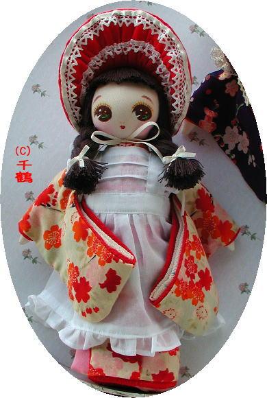 着物文化人形 桜