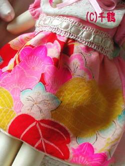 綺麗な正絹の紋錦紗