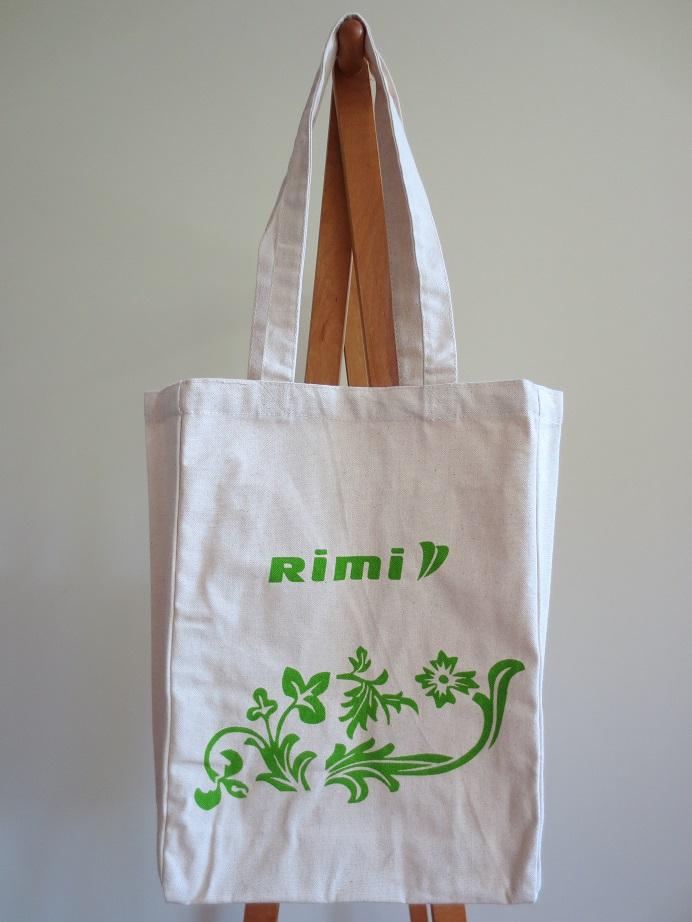 リトアニアのスーパーマーケット、Rimiのオリジナル・キャンバス・トートバッグ
