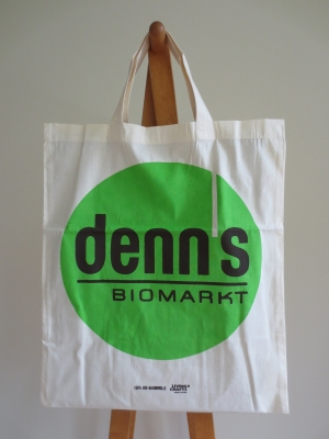 オーストリアのビオマルクト、Denns デンス のオリジナル・コットン・トートバッグ