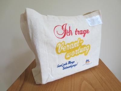 オーストリアのドラッグストア、dmのトートバッグ スモールサイズ