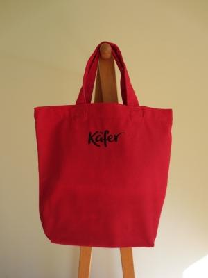 ドイツ ケーファー Käferのオリジナル トートバッグ スモール 赤