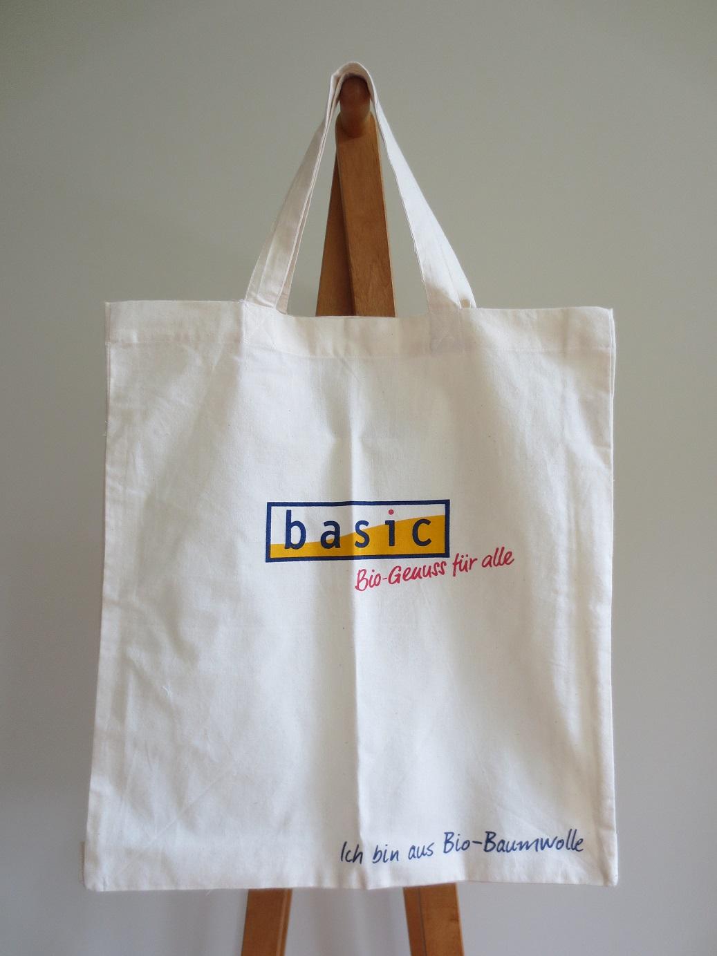 オーストリアのビオマルクト Basicのオリジナル・コットントートバッグ