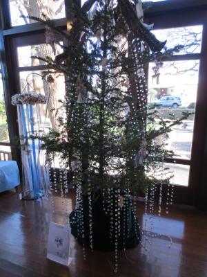横浜山手西洋館 世界のクリスマス 2015 エリスマン邸 オーストリア スワロフスキーのクリスマスツリー
