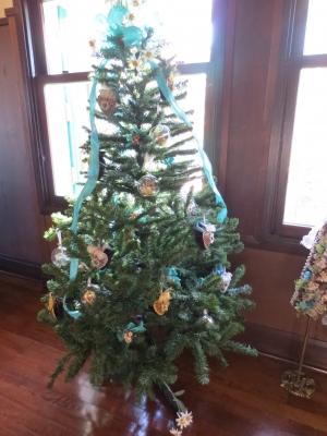 横浜山手西洋館 世界のクリスマス 2015 エリスマン邸 オーストリア クリスマスツリー