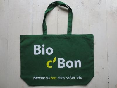 ビオセボン Bio CBon トートバッグ エコバッグ コットンバッグ