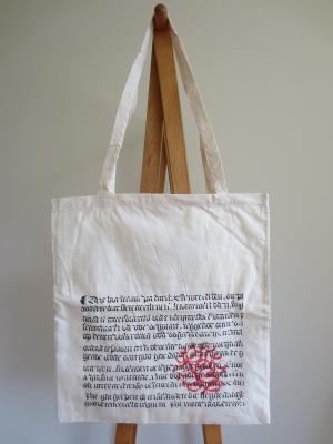 ドイツの書店 フーゲンドゥーベル Hugendubel のトートバッグ エコバッグ