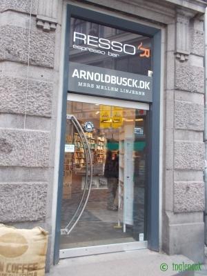 デンマークの書店 本屋 アーノルド・ブスク Arnold Busck