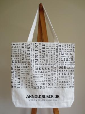 デンマークの書店 本屋 アーノルド・ブスク Arnold Busck トートバッグ エコバッグ