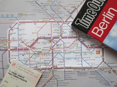 ベルリンの交通マップ