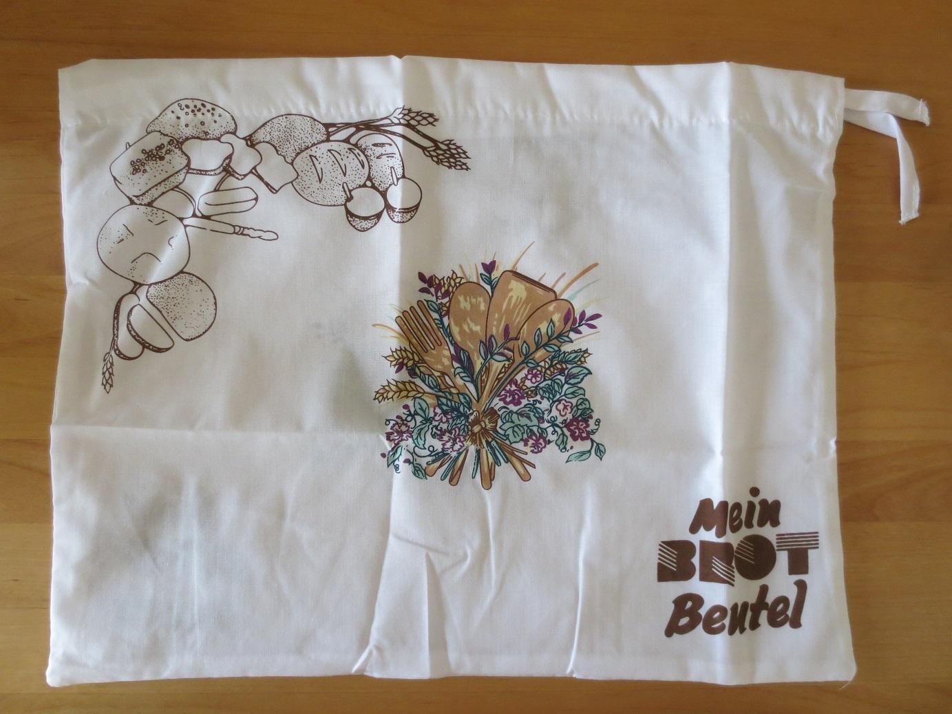 ドイツの家庭用品ブランド、ファッケルマン Fackelmann 社のパン保存用巾着袋