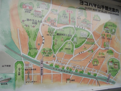 横浜山手マップ