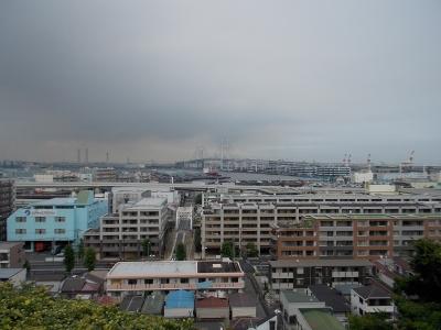港の見える丘公園 展望台からの景色
