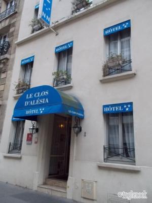 ル・クロ・ダレシア Le Clos dAlésia  パリ14区