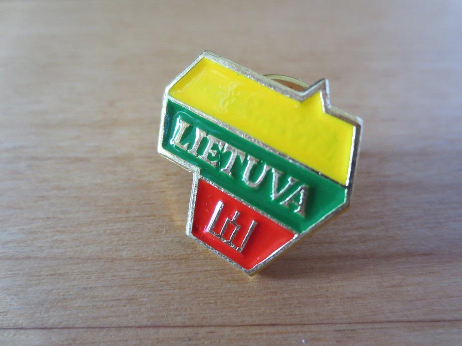 ピンバッジ リトアニア 国旗