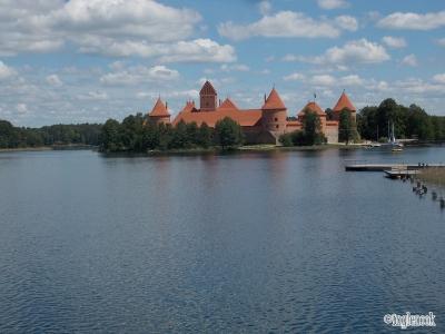 トゥラカイ城 Trakų salos pilis リトアニア トゥラカイ